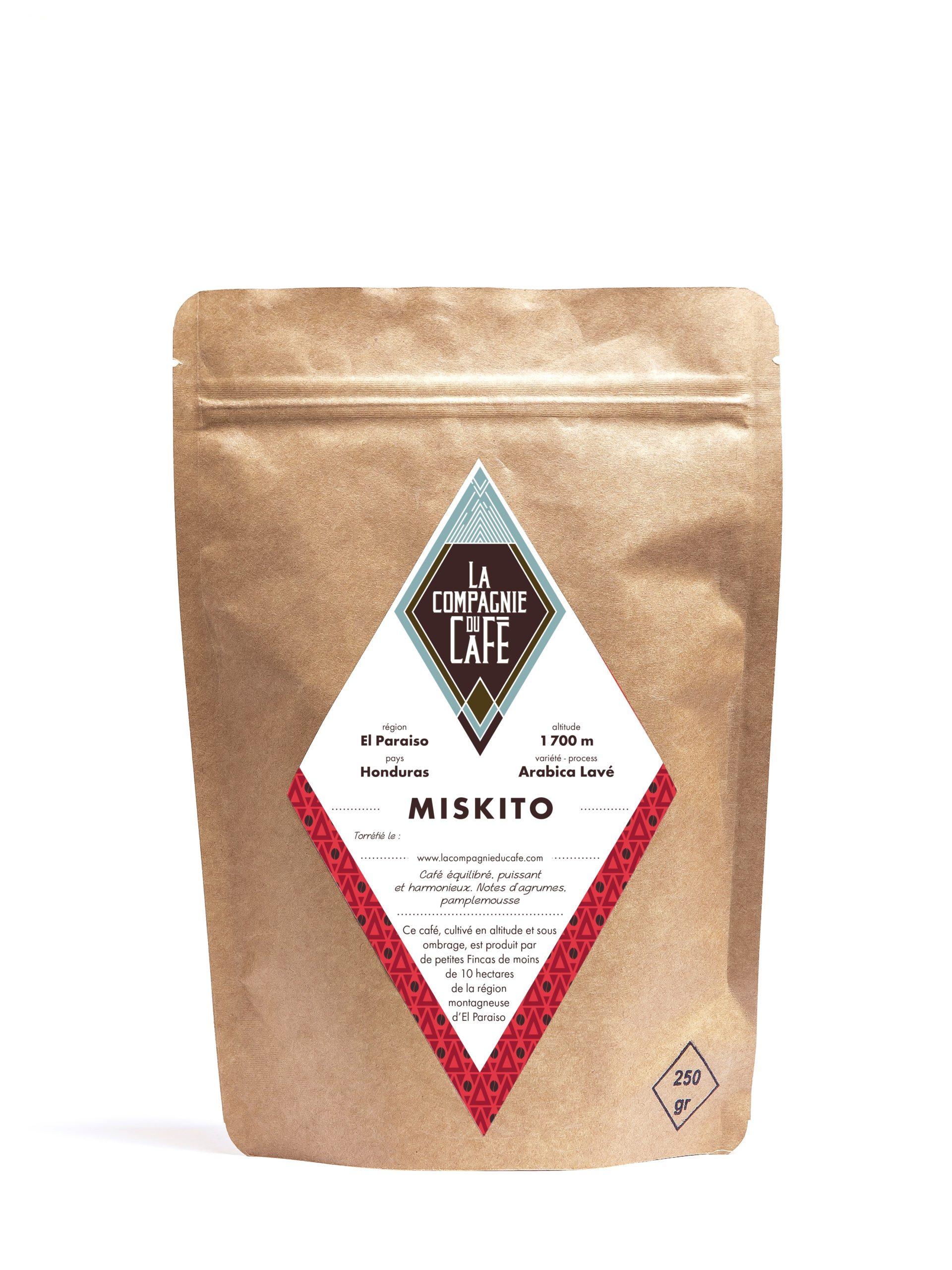 café en grains miskito