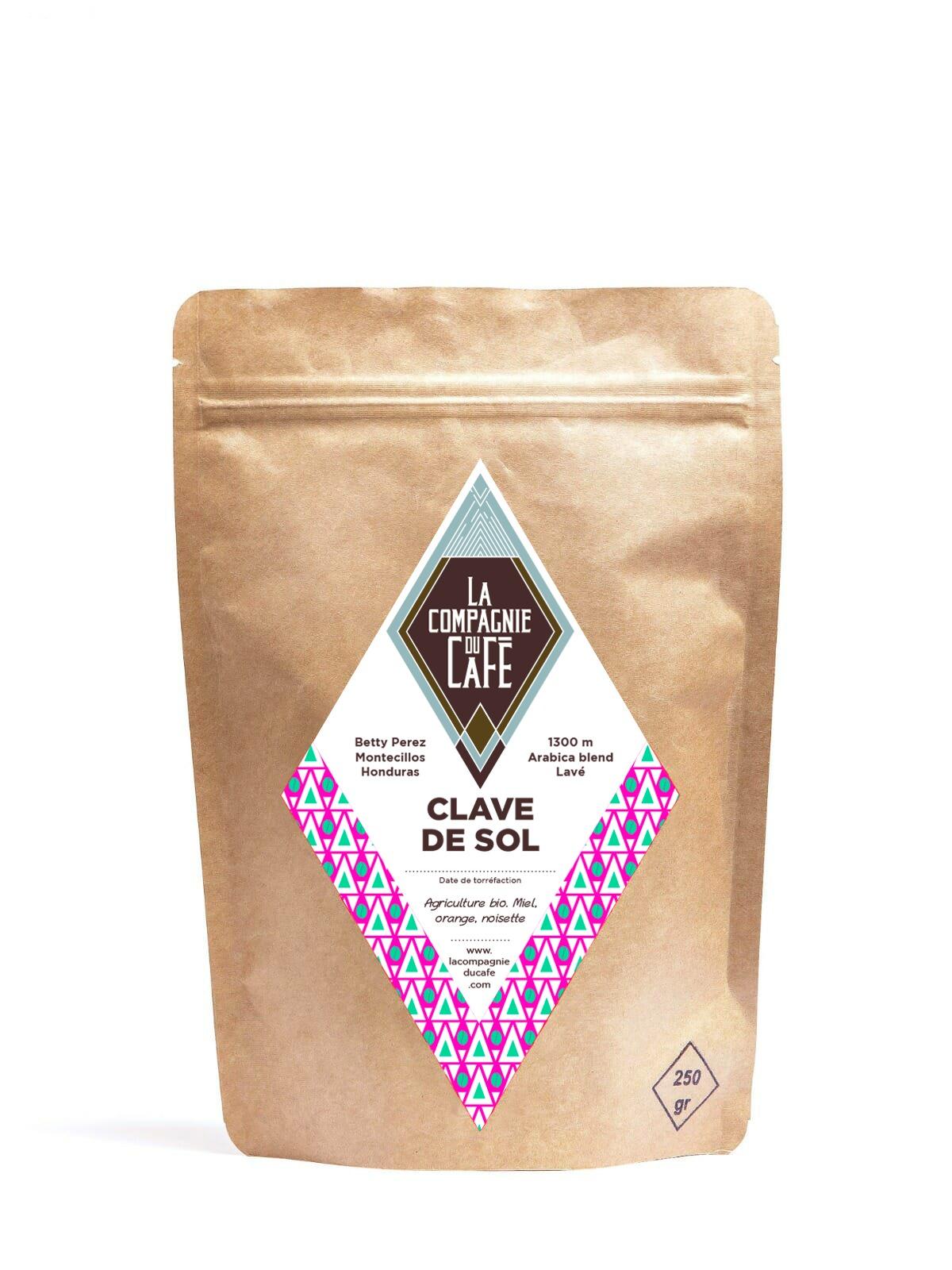 café en grain clave de sol